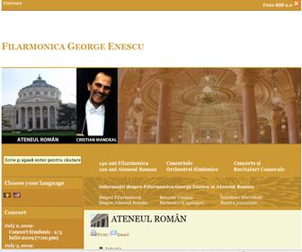 site web: Filarmonica George Enescu. Click pe imagine!