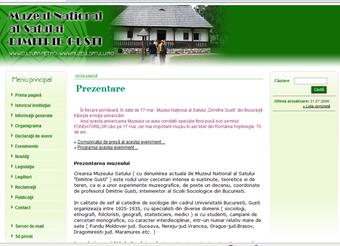 site web:http://www.muzeulsatului.ro Click pe imagine!