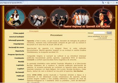 Site web 2006