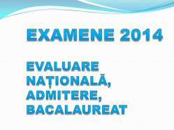 EXAMENE 2014