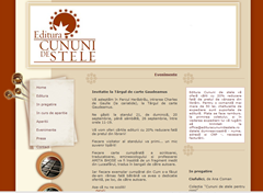 "Site editura ""Cununi de stele"""