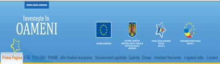 Site-ul Fondului Social European(click!)