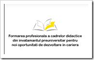 FSE -  pagină dedicată formării profesionale a cadrelor didactice.Click!