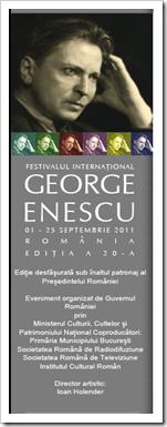 Festivalul Internațional George Enescu - 2011